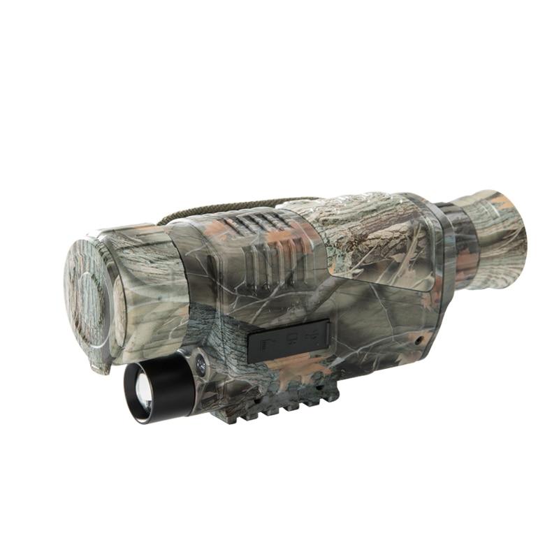 Mira de visión nocturna Monocular Laserspeed militar 5x40 multifunción Digital con toma de trípode