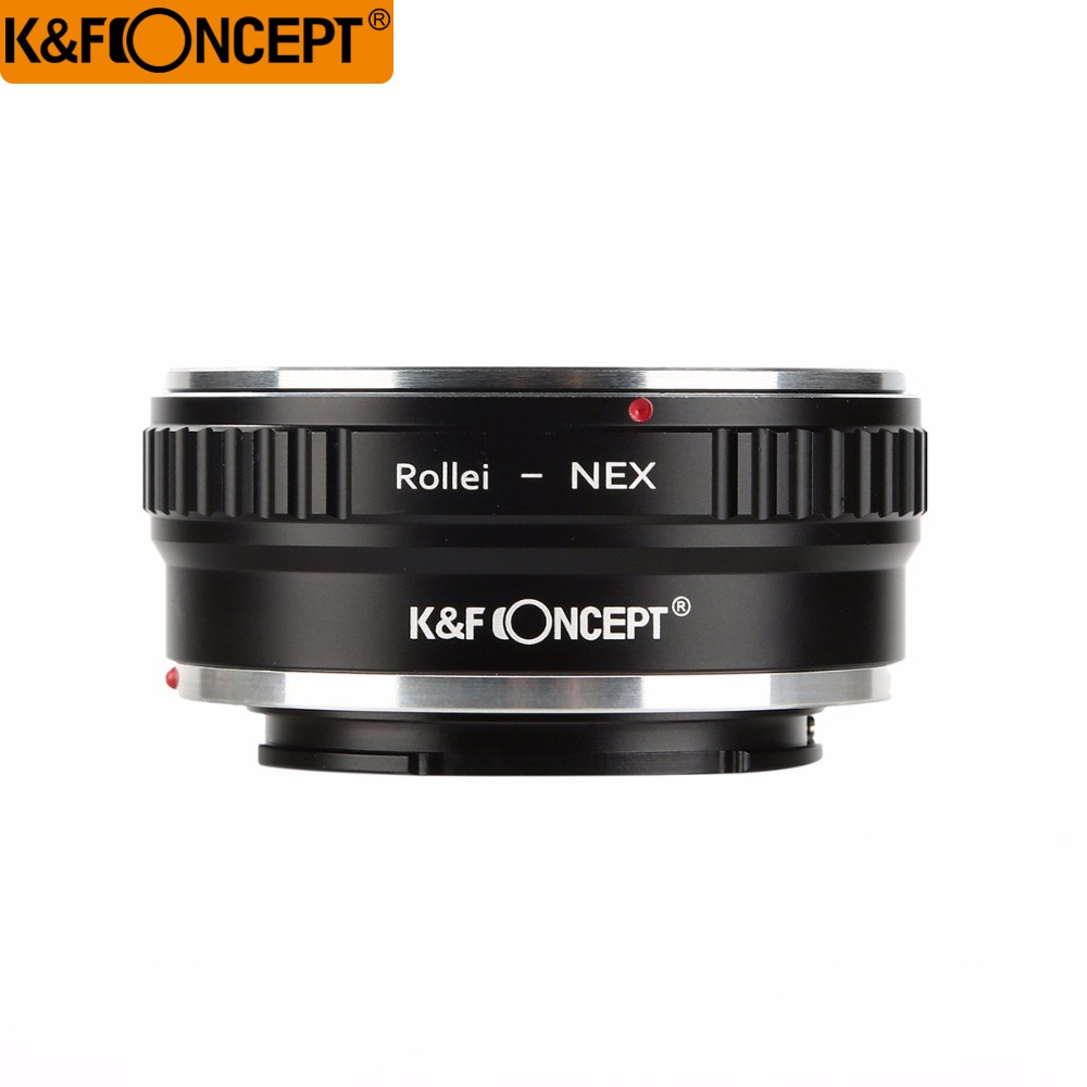 K & F Concept кольцо адаптера объектива для объектива Rollei QBM для Sony E A5000 NEX-5T NEX-3N NEX-6 корпус камеры