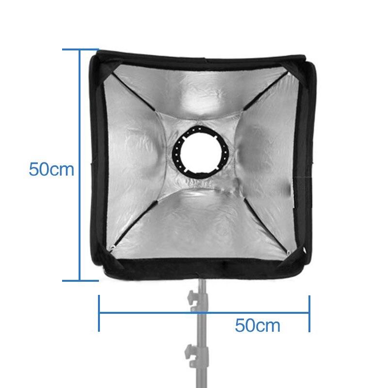 "Mcoplus 20x20 ""/50x50cm flash difusor de Soft Box para flash para Nikon D7100 D5300 D3100 Canon 580, denominada EXII 580EX 430, denominada EXII 430EX"