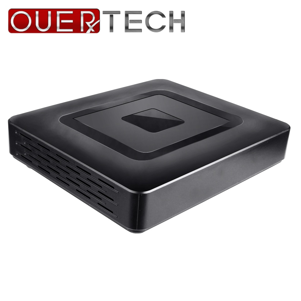 OUERTECH 5 em 1 CVBS IP CVI TVI AHD CCTV 4CH MINI 1080N 2 Porta SATA HDD ONVIF Vigilância DVR Recorde De Vídeo Digital DVR