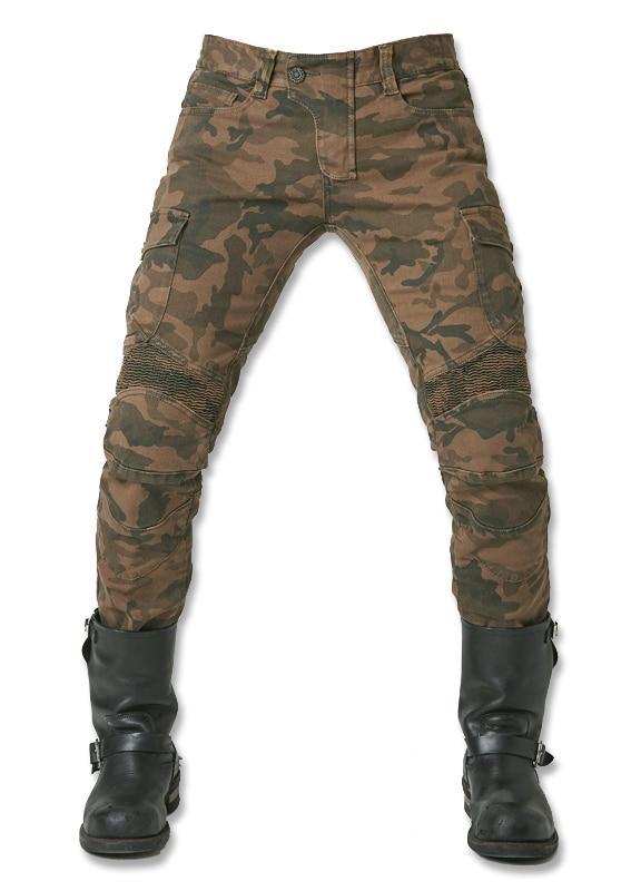 بنطلون جينز مموه ubs07 2016 UglyBROS, سروال لراكبي الدراجات النارية ، شحن مجاني