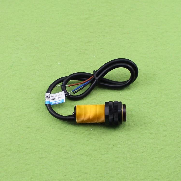 5 PCS E18-D50NK reflectância difusa interruptor fotoelétrico infravermelho sensor de desvio de obstáculos infravermelho sensores de proximidade NPN