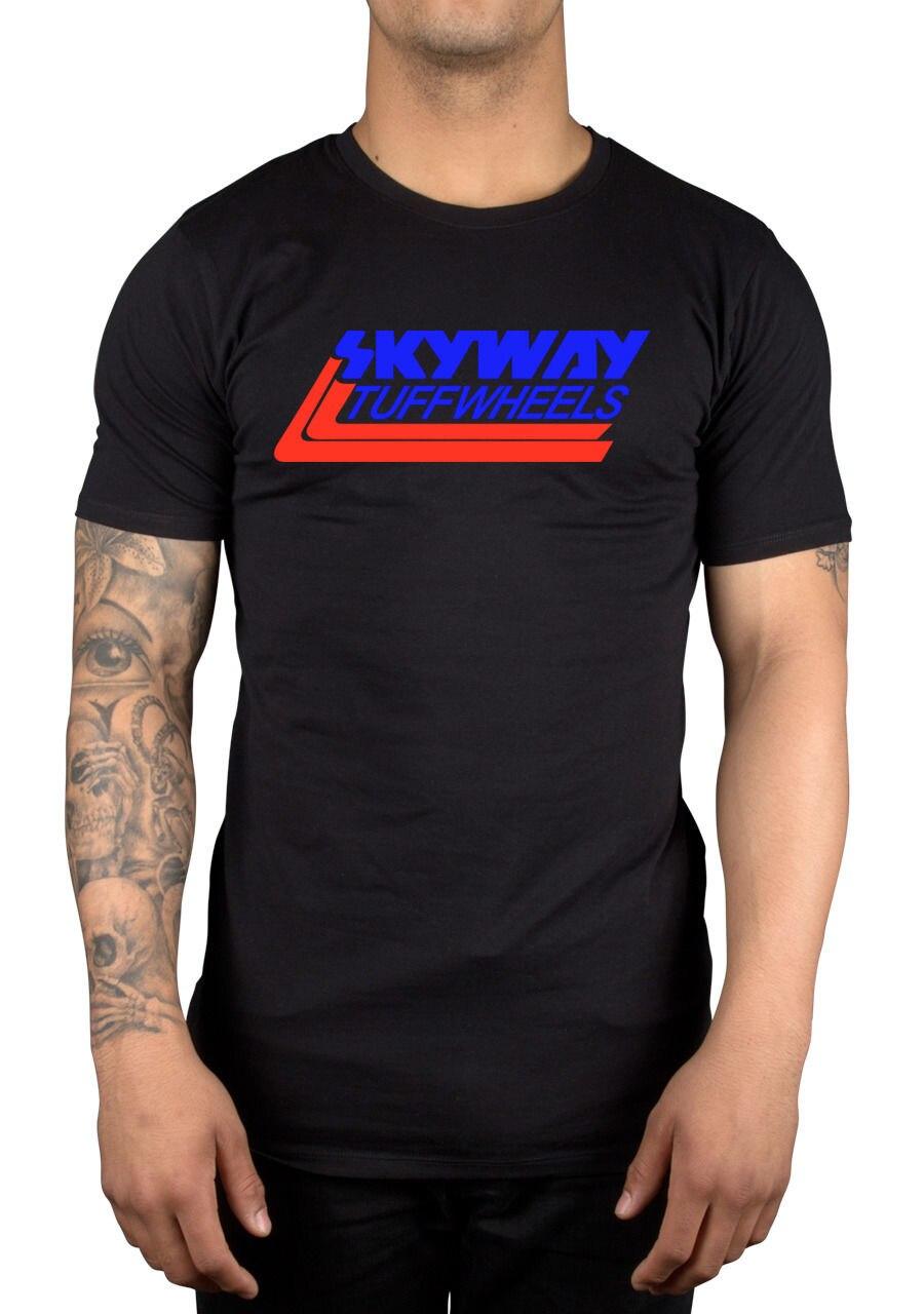 Skyway Tuff ruedas nueva Retro BMX camiseta ciclismo Bandit Bike Mongoose Cool Casual pride camiseta hombres Unisex nueva moda camiseta