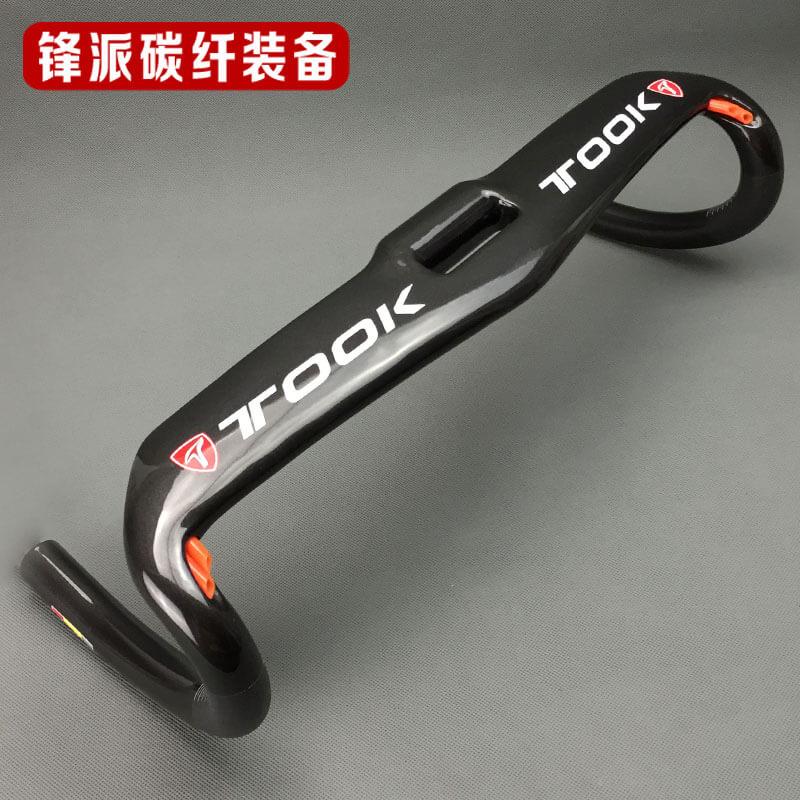 Toseek полностью Углеродный волокно 31 8 мм черный глянец руль bmxроуд для велосипеда