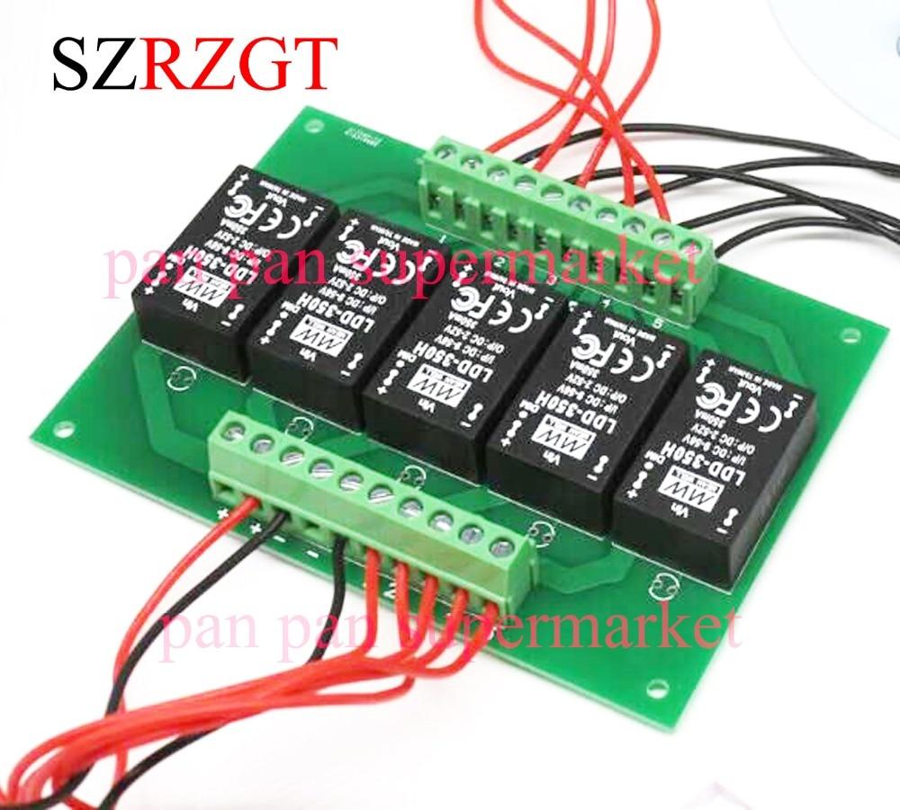 1 unidad 5UP ldd-h meanwell Driver PCB con 350 h 500H 700H 1000H 5 canales (solo se vende pcb, no controlador)
