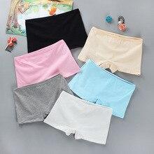 Haute qualité fille sécurité Shorts pantalons sous-vêtements solides doux élastique coton Leggings filles dentelle slips pantalons courts pour les enfants