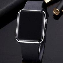 Мужские светодиодные цифровые спортивные часы, мужские военные наручные часы с резиновым ремешком, часы Saat, мужские часы Hodinky Ceasuri