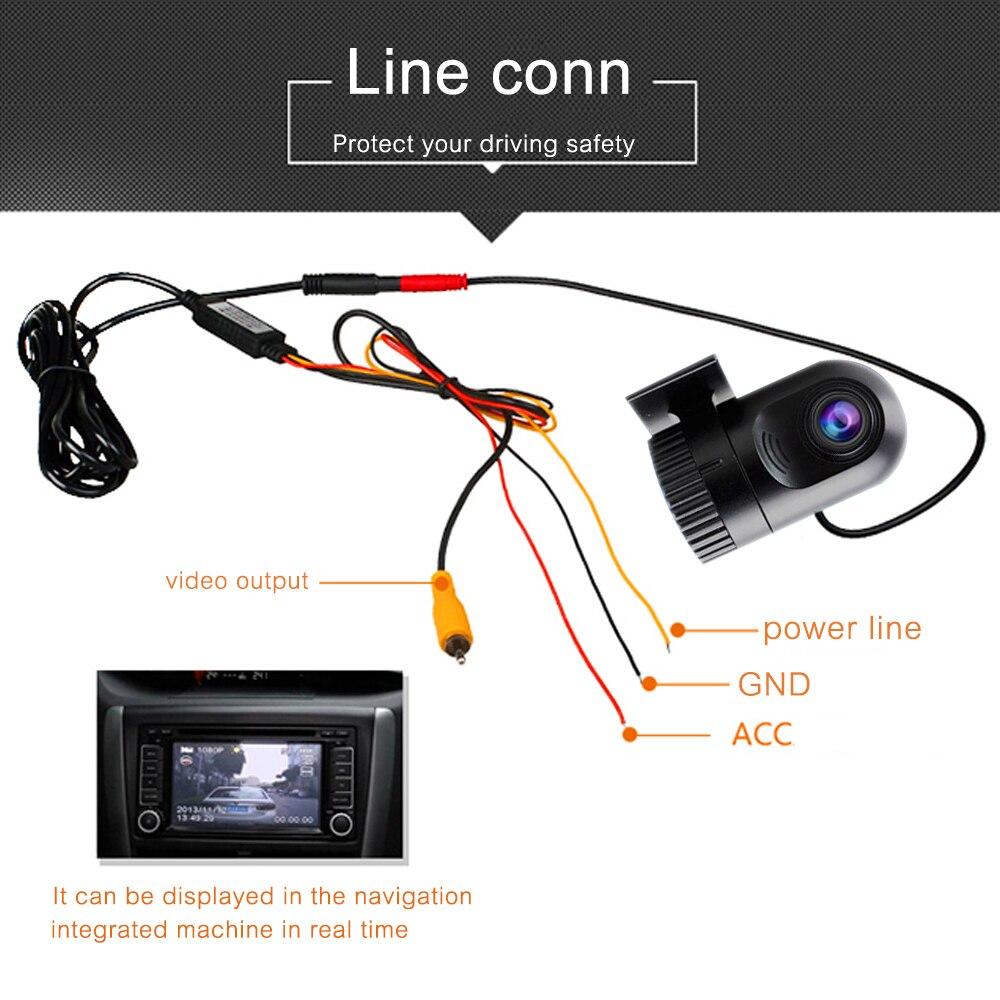 ONKAR Car DVR 1280*720P HD DVR Car Camera 12V Car recorder with 140 high definition wide-angle lens G-sensor night vision