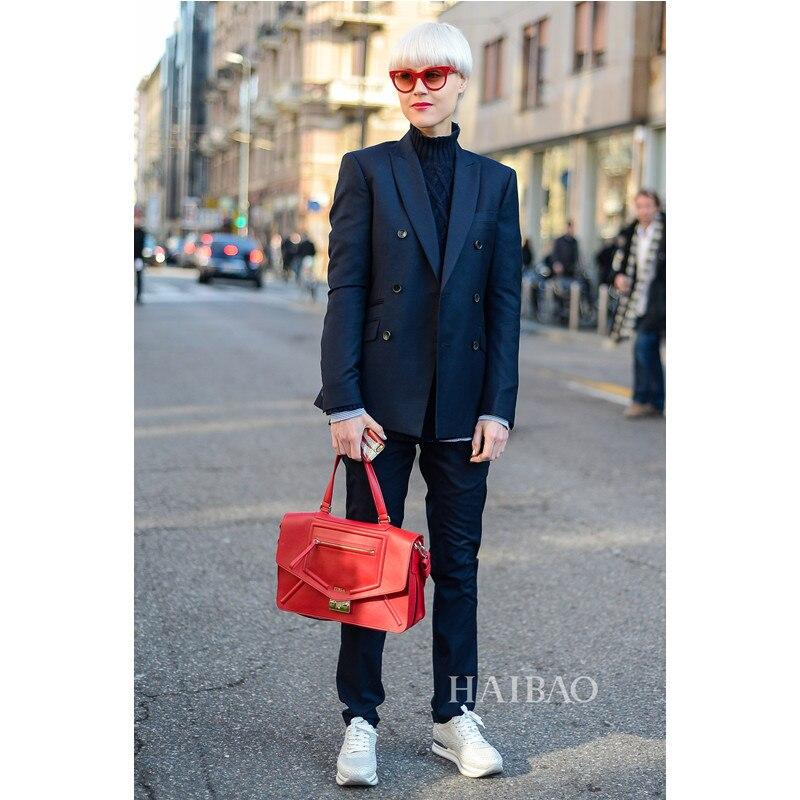 Nuevos pantalones de chaqueta Formal pantalones elegantes traje de mujer Slim Fit femenino 2 piezas conjunto chaqueta de manga larga + Pantalones