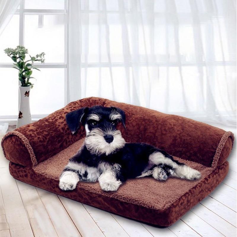 Cama sofá para mascotas Coralline para perros y gatos, alfombrillas para tumbonas para perros, cama acogedora para perros grandes, caseta para perros y gatos para animales