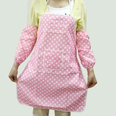 Cotton waterproof apron cuff Raglan sleeves free shipping enlarge