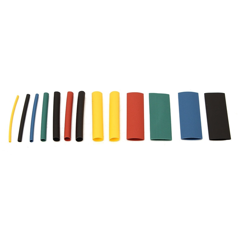 280 stücke 8 Größen Multi Color Polyolefin 2:1 Wärmeschrumpfschläuche Rohrschläuche Rohr Sortiment Sleeving Wrap Draht Kit rohre Kits