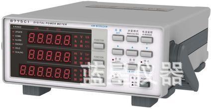 Instrumento de Medição Qingdao Qing Parâmetro Elétrico Monofásico Medidor Watt ac 600 v 20a Zhi 8775a1