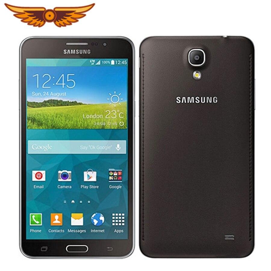 Samsung Galaxy Mega 2 G7508Q débloqué dorigine 6.0 pouces 8GB ROM 2GB RAM 13.0MP Quad Core 2800mAh GPS écran tactile téléphone portable