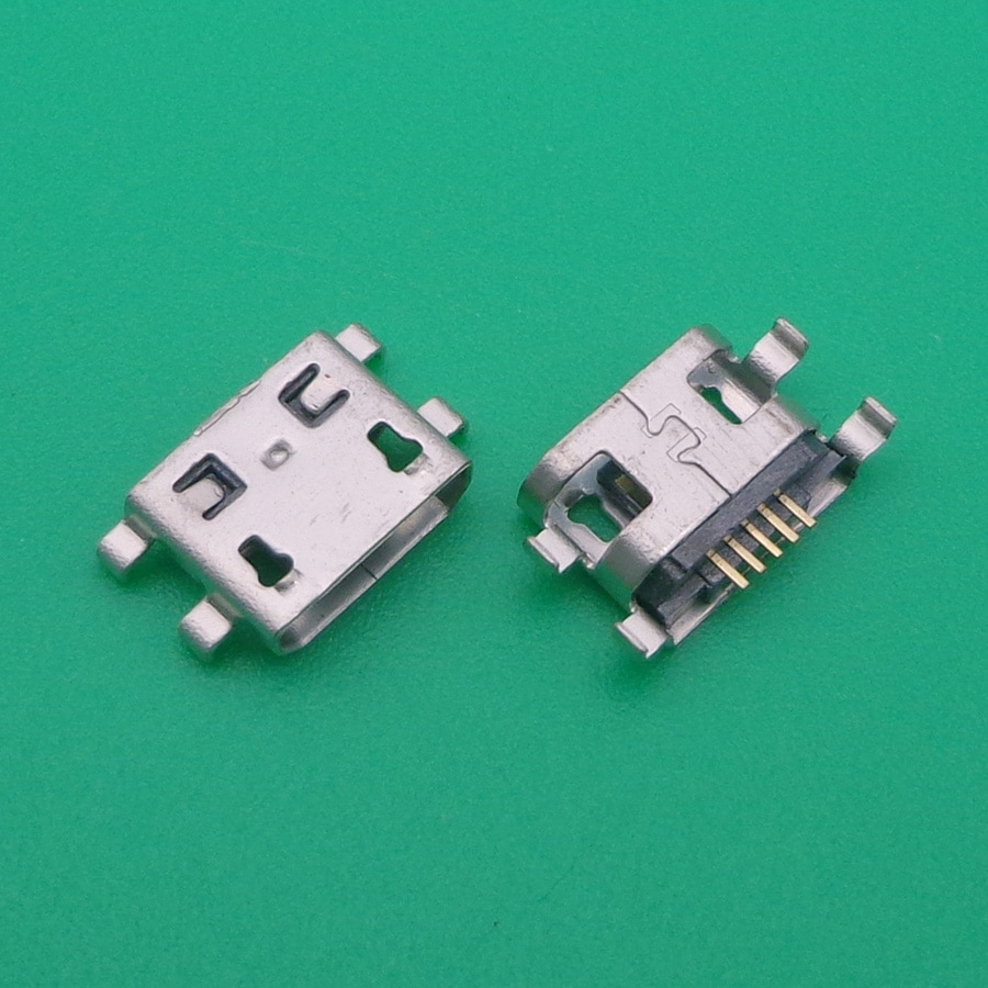 200pcs For Alcatel 5022D 5022 5020D 5020 Micro USB jack connector phone mini charging socket port power plug dock 5pin female