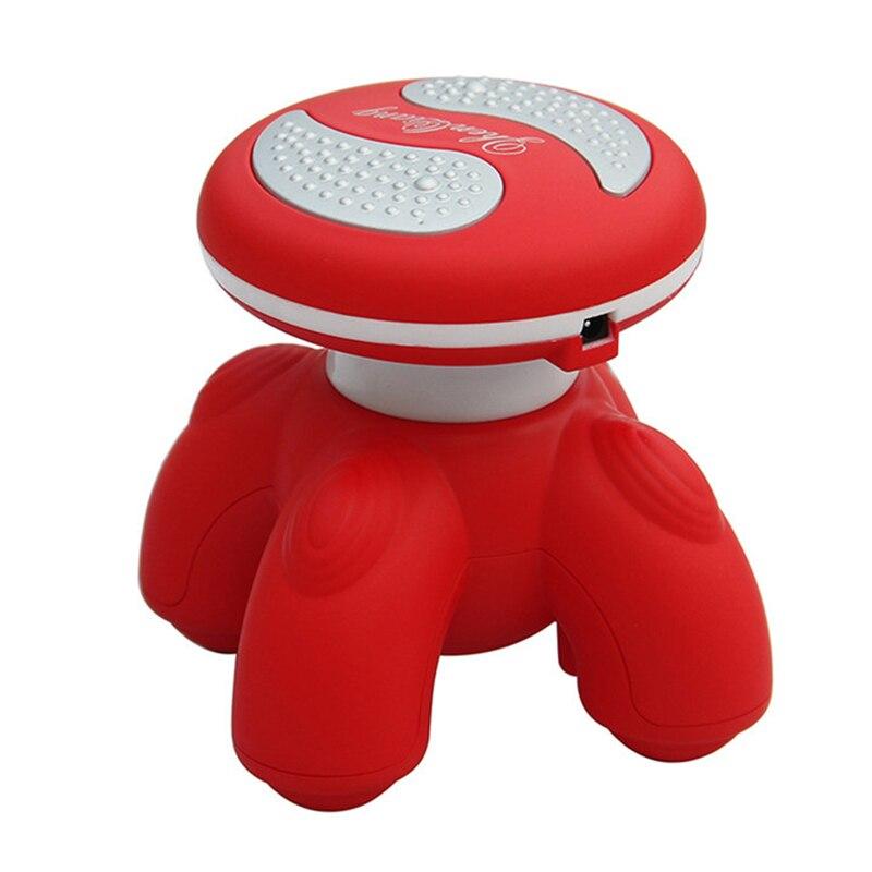 Luminous Mini Electric Handled Wave Vibrating Massager USB Recharge Full Body Massage Device Health99