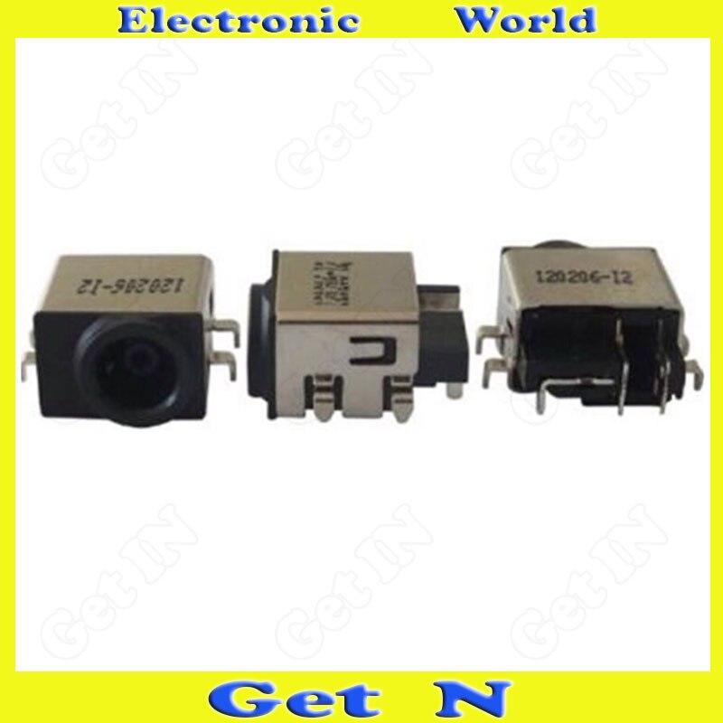 100pcsDC-موصل سلك منحني ، دبوس 7-Pin ، تيار مستمر ، لأجهزة الكمبيوتر المحمول والكمبيوتر المحمول ، مستورد مع العبوة الأصلية
