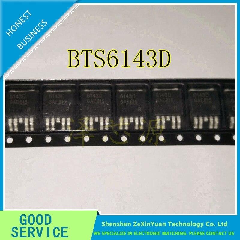 50 pçs/lote BTS6143D BTS6143 D-PAK5/TO252-5
