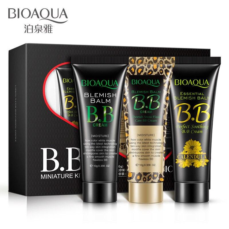 3pcs/lot cream skin Whitening BB Cream sunscreen korean faced foundation Skin Concealer makeup set MISSHA nice boxed
