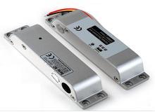 Serrure à boulon électrique avec signal de détection détat de porte et retard de minuterie, serrure électrique à sécurité intégrée pour porte vitrée