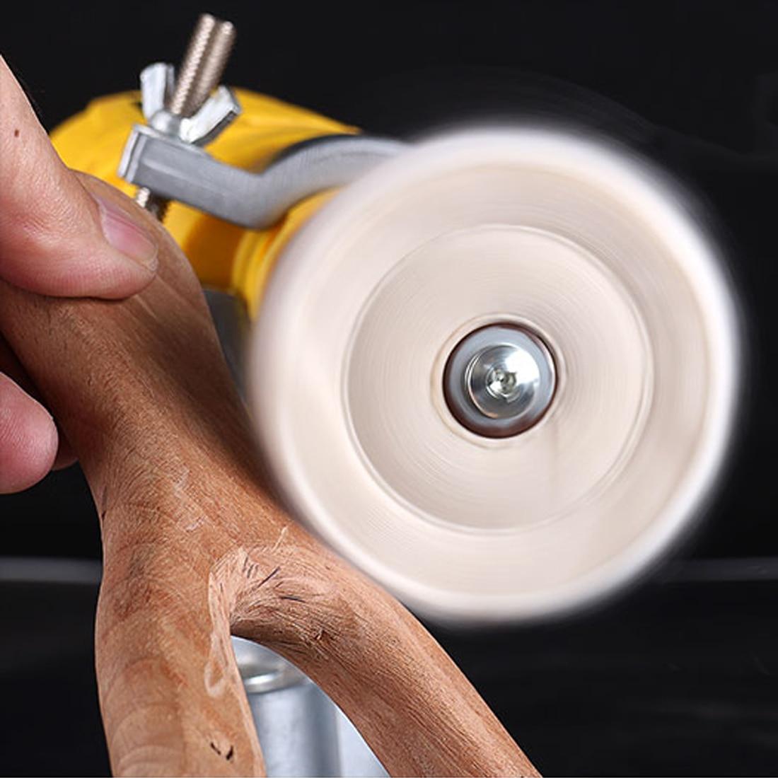 2-12 pouces roues polissage roue de polissage coton peluche tissu roue de polissage or argent bijoux miroir roue de polissage