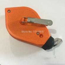 Boîte à craie pour cloisons, niveau de marquage pour cloisons sèches rouleau de ligne Standard Orange