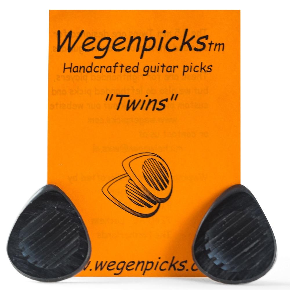 Wegenpicks gemelos 2,5mm/3,5mm mini-Gypsyjazzpick púas de guitarra, 1 pieza