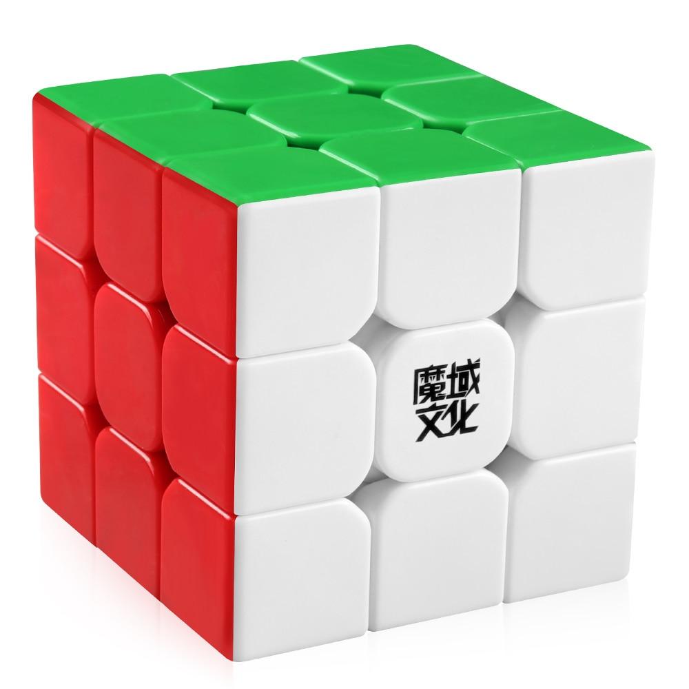 D-FantiX Moyu Aolong V2 Stickerless 3x3 скоростной куб магический куб Пазлы улучшенная версия