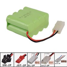 9.6v 2800mah AA NI-MH X Battery Electric toys Remote car ship robot rechargeable free shipping