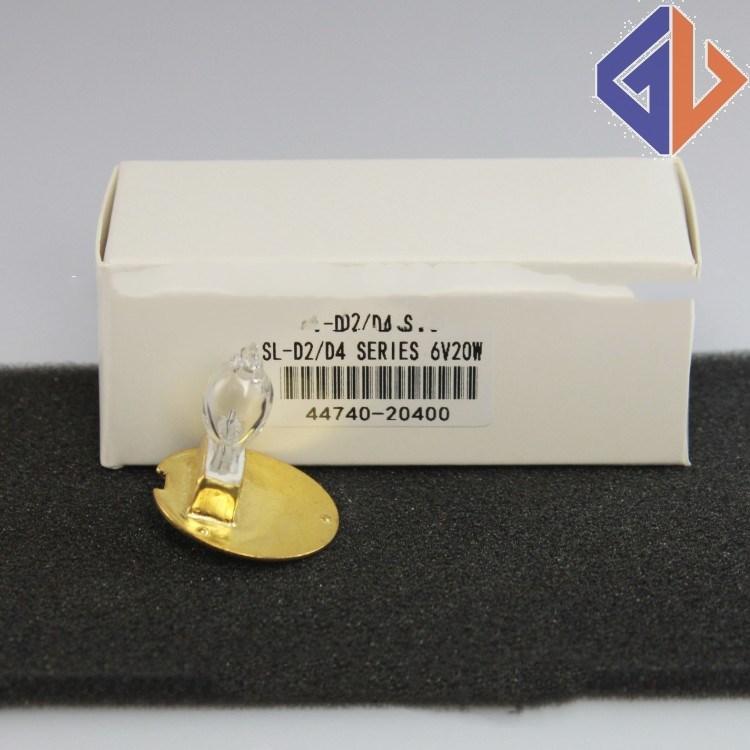 Para Compatível para Zeiss 10PSC Dr. fischer 58Z 6 V 30 W 380158,390158, OPMI1 6V30W BA20D lâmpada microscópio, Triangular flange base bulbo