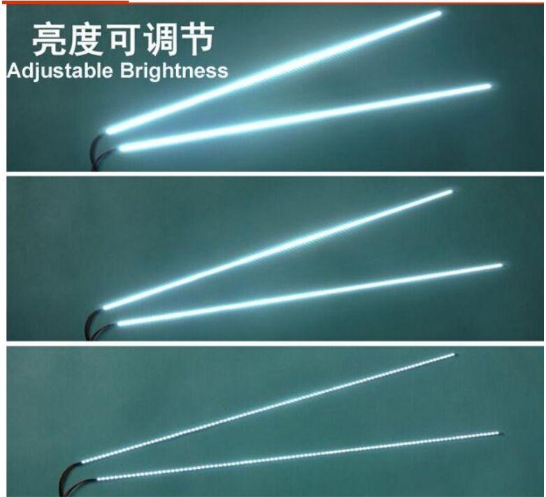 LED الخلفية مصابيح ل تحديث LCD رصد 19 بوصة 3528 385 مللي متر مع 66 المصابيح LED قطاع ل LCD 50 قطعة/الوحدة