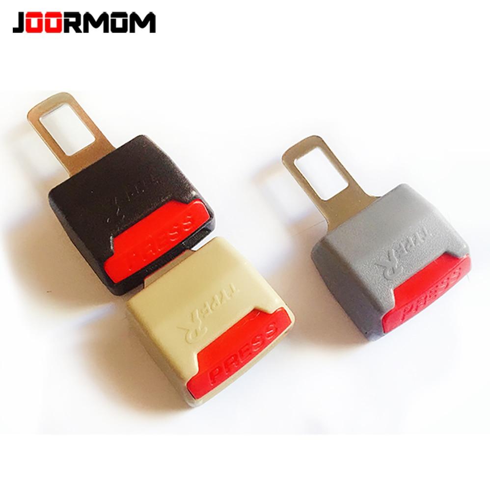 Joormom universal cinto de segurança do carro plug-in mãe conversor de dupla utilização fivela de cinto extende clipe cinto de segurança acessórios de automóveis