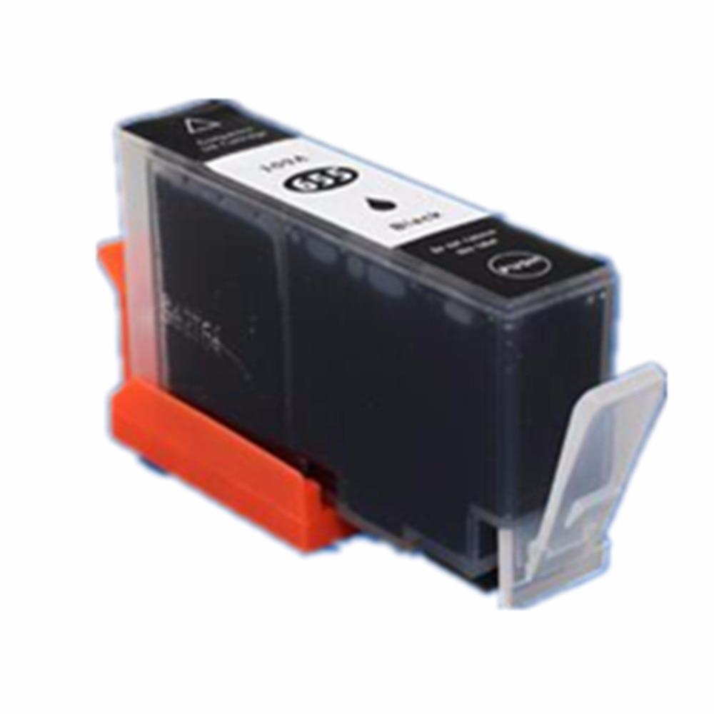 Hisaint 2 uds para impresora HP 655 negro cartuchos de tinta DeskJet serie 3525, 4615, 4625, 5525, 6520, 6625 impresora de chorro de tinta envío gratis caliente