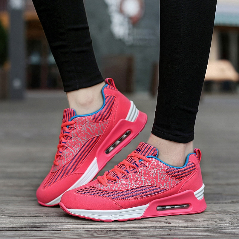 Sport Running Shoes Woman Outdoor Breathable Comfortable Couple Shoes Lightweight Athletic Sneaker Women High Quality