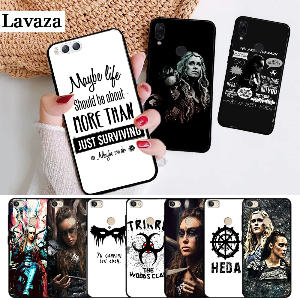 Lavaza Heda Lexa The 100 TV Show Coque Silicone Case for Xiaomi Redmi 4A 4X 5 5A 6 6A 7 7A 8 8A K20 Pro Plus S2 Go