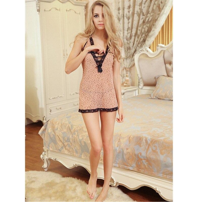 Ropa interior Sexy a la moda para mujer ropa de dormir camisón para mujer