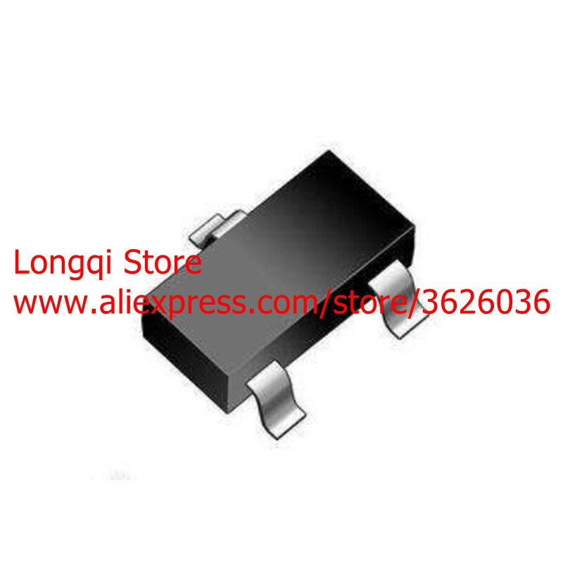 100 Uds BSS84LT1G BSS84 Mark PD o SP SOT23 SOT-23 MOSFET de potencia Solo P-Canal 50V 130MA