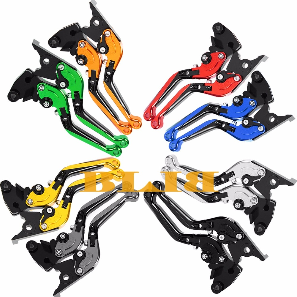 Alavancas de freio e moto para kawasaki, para motocicleta z1000sx ninja 1000 tourer z1000 r 2017-2020 alavanca de mm