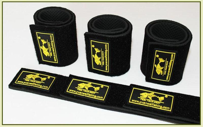1pc YUANWEI Lure Fishing Rod Belt Rod Strap Bundle Rod Tie Suspender Wrap Bundle Elastic Fishing Accessories Fishing Tackle B254