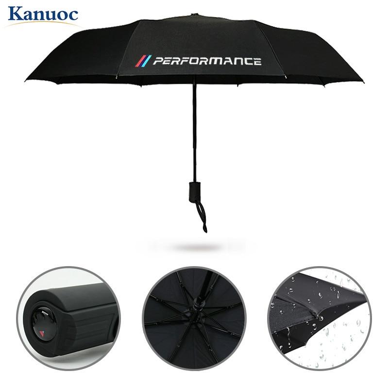 2020 New Car Styling Car Portable folding Umbrella Sunshade For BMW E46 E39 E38 E90 E60 E36  X5 X3 X6 with M/performance LOGO