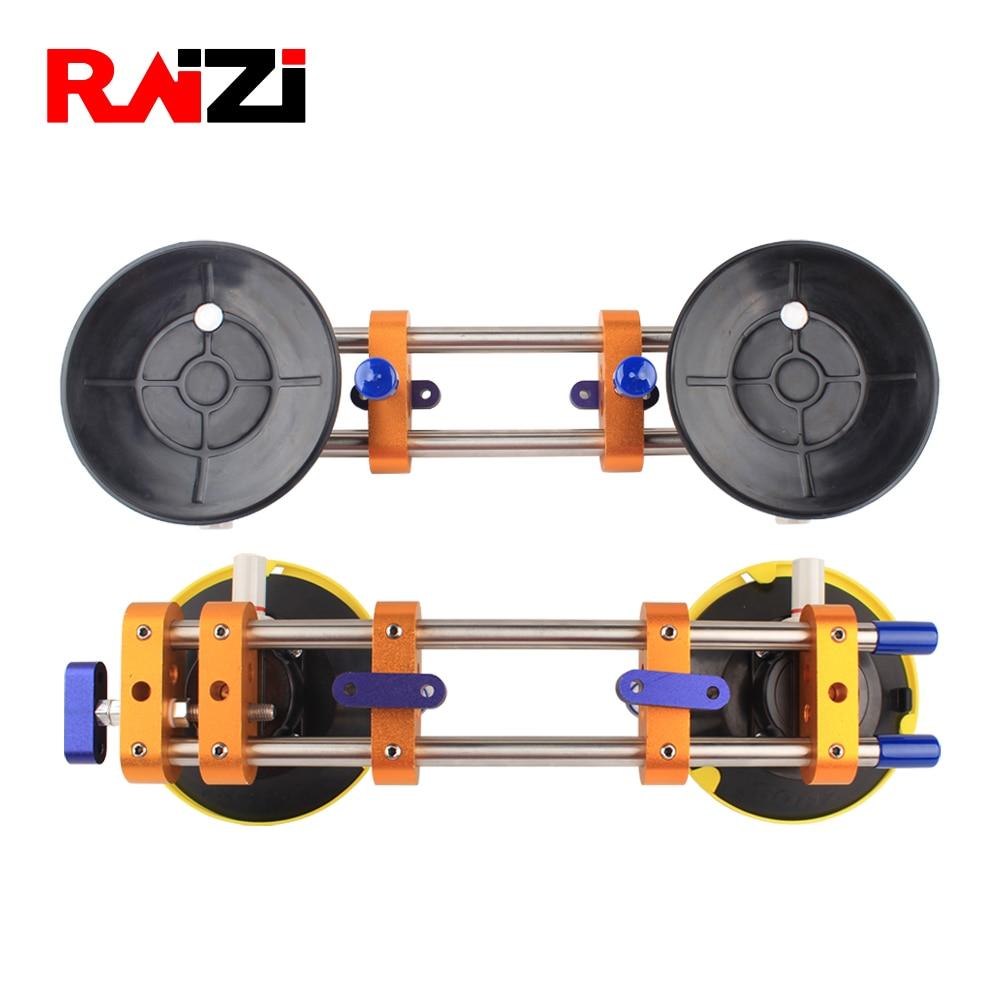 Raizi 2 قطعة حجر التماس اضع للانضمام تسوية الجرانيت كونترتوب سلس أدوات التركيب مع 6 بوصة كوب شفاط المكنسة الكهربائية
