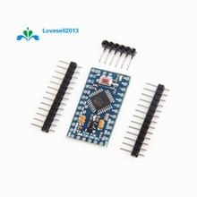 Livraison gratuite Pro Mini atmega328 Mini ATMEGA328P 5 V 16 MHz Module avec des broches doscillateur en cristal remplacer ATMEGA128 pour Arduino Nano