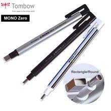 Tombow MONO zéro gomme plat/Super Fine pointe en caoutchouc Type de stylo professionnel haute précision crayon gomme pour point culminant Manga