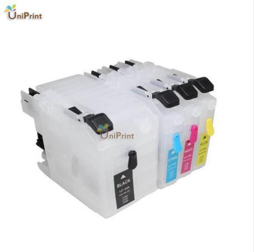 A Lc529 recarga de tinta cartucho compatible para DCP-J100 DCP-J105 MFC-J200 J100 J105 J200 para LC539/535; LC569/565 LC529/525 LC109