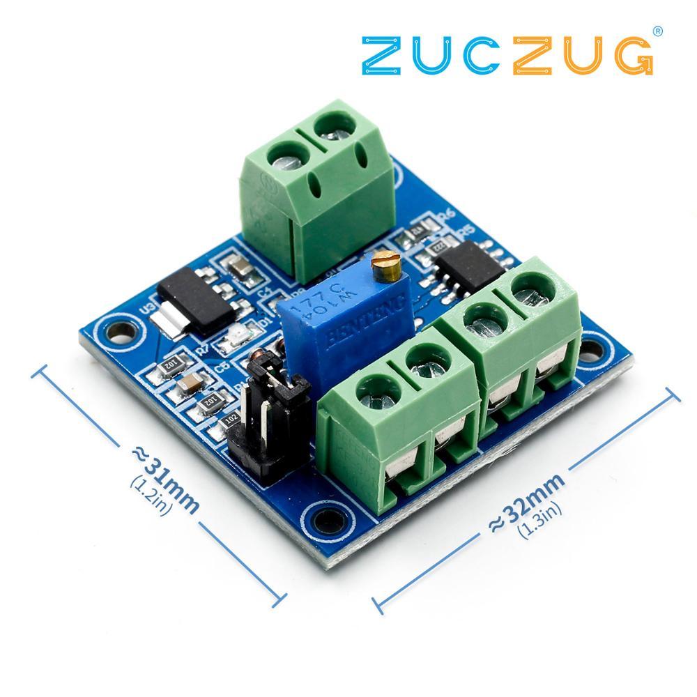 Voltage to PWM Converter Module 0-5V 0-10V to 0-100% New