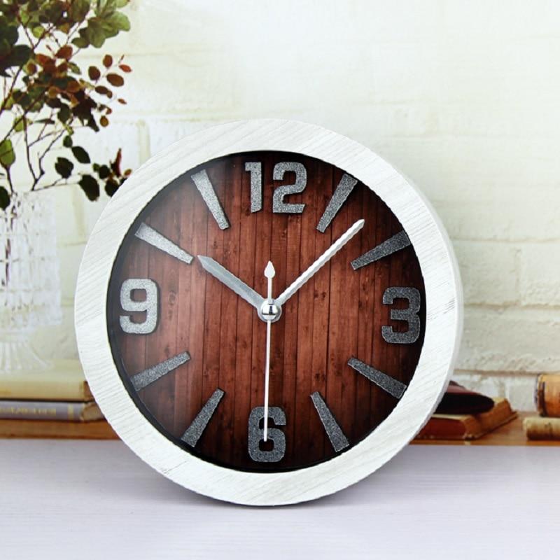Reloj decoración del hogar reloj despertador al fajr relojes de cuarzo reloj digital automóvil reloj retro 3D estereoscópico digital plástico