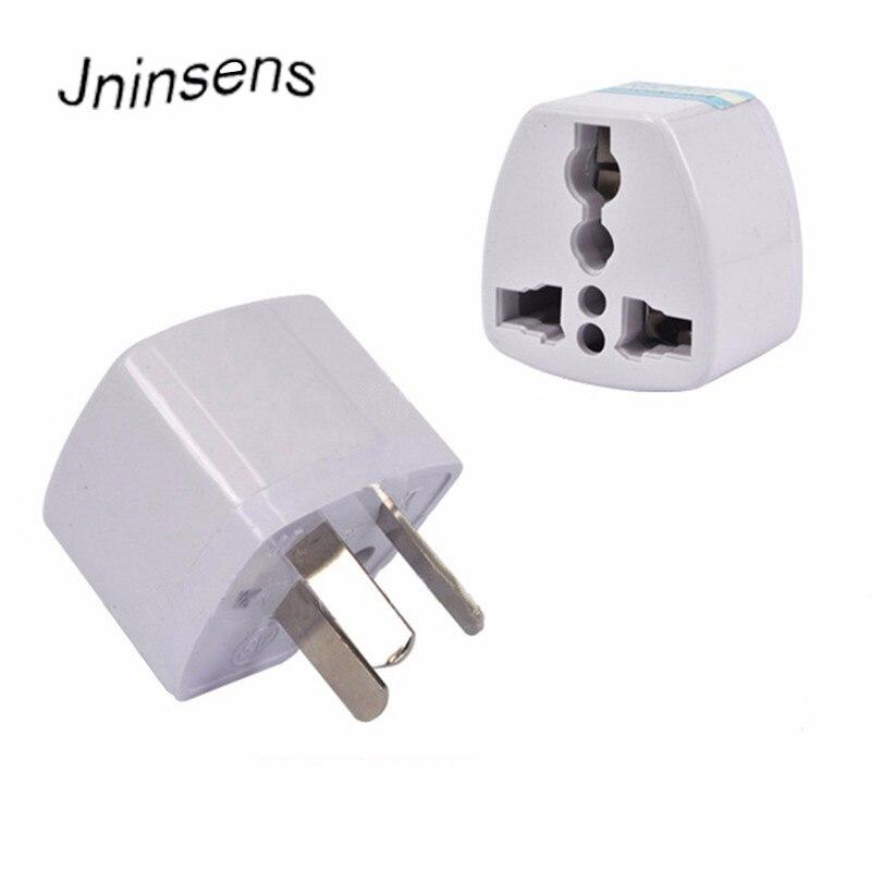 Neue Universal Travel Adapter Elektrische Stecker Steckdosen Converter 3 pin AU Konverter US/UK/EU zu AU Stecker ladegerät Für Australien