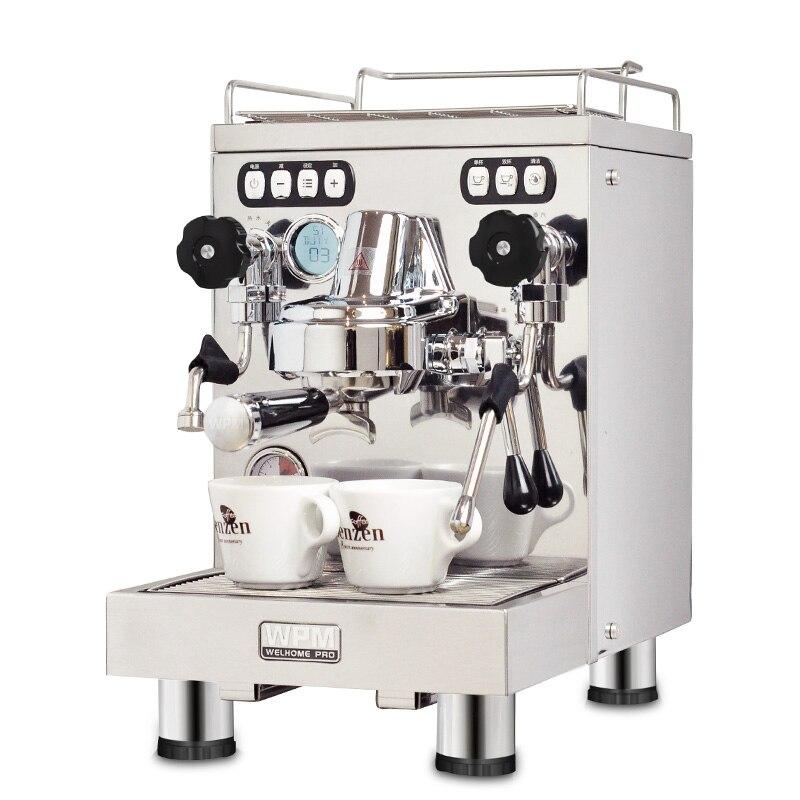 Máquina de café profesional, máquina comercial de café expreso capuchino, máquina de café Espresso semiautomática