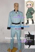 Hetalia Axis Powers Germany Ludwig Cosplay Costume include gloves and belt ACGcosplay