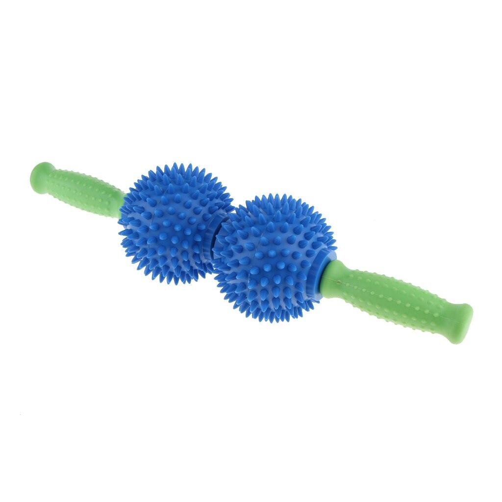 1 pçs espetado bola gatilho ponto muscular relaxar massagem vara rolo ferramenta